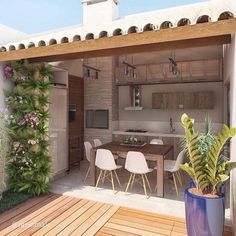 Patio ideas furniture that is inspired by the charming outdoor that can set the mood . Patio Ideas to Beautify Your Home On a Budget Pergola With Roof, Wooden Pergola, Backyard Pergola, Pergola Kits, Pergola Ideas, Cheap Pergola, Privacy Screen Outdoor, Outdoor Kitchen Design, Outdoor Kitchens