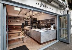 The cosiness of Hygge is embraced at this beautifully-designed Scandi-inflected Neal's Yard restaurant 26 Grains London... More