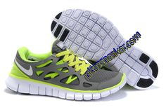 Save Up To 73% Mens Nike Free Run 2 Dark Grey Volt Shoes        #Volt  #Womens #Sneakers