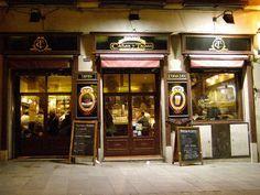 Tapas Bar, Madrid Spain