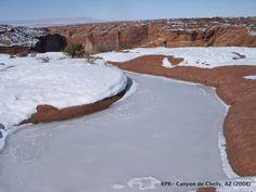 Winter in Canyon de Chelly, AZ. 2008