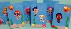 Bubble Guppies Birthday Party Bags  Favors