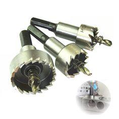 5ピース/ロットホールソーカッターpower toolsドリルビットholesawセットツイストドリルビットカッターツール穴鋸歯16/20/25/30/32ミリメートル