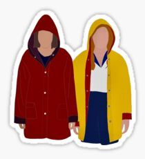 'Eleven & Max - Stranger Things' Sticker by Stranger Things Tumblr, Stranger Things Fotos, Stranger Things Aesthetic, Stranger Things Netflix, Stickers Kawaii, Cool Stickers, Printable Stickers, Arte One Direction, Homemade Stickers