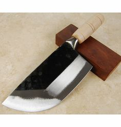 cck li l rhino cleaver Japanese Cooking Knives, Japanese Kitchen Knives, Best Kitchen Knives, Cool Knives, Knives And Tools, Knives And Swords, Chefs, Cooking Shows On Netflix, Cooking Dried Beans