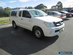 2011 Toyota Hilux GGN15R MY11 Upgrade SR White Automatic 5sp A Extracab #toyota #hilux #forsale #australia
