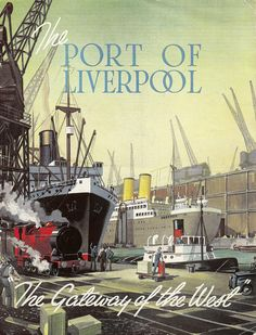 The Port of Liverpool, c1950, publicity brochure, Mersey Docks and Harbour Board, England