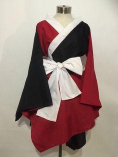 Vestido Kimono de Harley Quinn por skycreation en Etsy