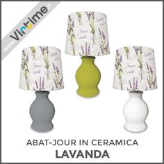 "Abat-jour in ceramica. modello ""Lavanda"". Finitura opaca con paralume plastificato decorato. 3 colori: Rosso, Bianco e Grigio. Confezione: Vassoio ""Virtime"" - Abat-jour Assemblata Dimensione: H. 26 Diam. 13 cm Ref.: S30065/20  #Virtime #virtimehome #milan #italy #italiandesign #decoring #house #homedecor #tools #creative #detail #decoration #designideas #nofilter #unique #furniture #materials #decorating #instadecor #lampada #lampadina #luce #lamp #lightbulb #light #desk #articulated #libro"