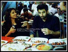 Parineeti Chopra & Aditya Roy Kapoor at Daawat E Khaas at Mohammad Ali Road,Mumbai