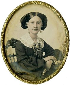 A woman's true face - early daguerreotypes of women and girls, circa 1840s-60s