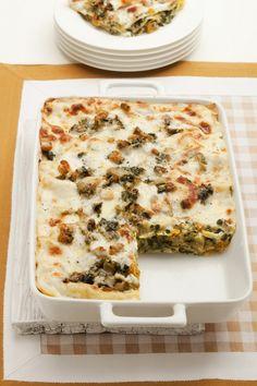 Alimentazione Sana & Cucina Naturale: Lasagne con zucca, carciofi e spinaci