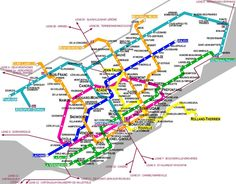 Montreal Subway Map Printable.134 Best Metro Maps Images In 2019 Subway Map Map Train Map