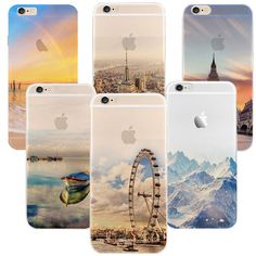 Newest fashion For iPhone 5s 7 6 6S case Ultra Thin Soft Silicon Mountain Landscape For iphone 7 6plus Case Phone Cover cases #>=#>=#>=#>=#> Click on the pin to check out discount price, color, size, shipping, etc. Save and like it!