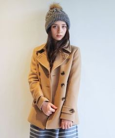 Classic pea coat / ShopStyle(ショップスタイル): Beauty&youth United Arrows