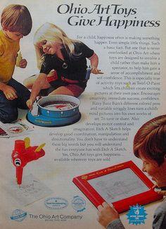 1972 Vintage Etch A Sketch Toy