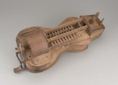 Hurdy-gurdy (lira) - photo via Museum of Fine Arts, Boston, Massachusetts; probably made in Ukraine; Renaissance Music, Medieval Music, Hurdy Gurdy, Instrument Sounds, Violin Bow, Early Music, Wooden Words, Folk Music, Musical Instruments