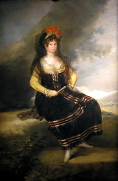 ca. 1803 Condesa Fernan Nunez by Francisco José de Goya y Lucientes (private collection) | Grand Ladies | gogm