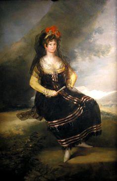 ca. 1803 Condesa Fernan Nunez by Francisco José de Goya y Lucientes (private collection) | Grand Ladies | gogm