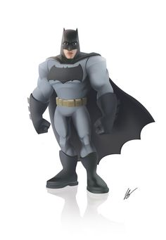 Batman Disney Infinity   Batman - Disney Infinity style by dreelrayk on DeviantArt
