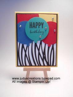 Swirly Scribbles Happy Birthday Balloons