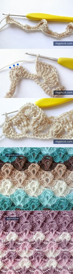 Knitulator sucht #Häkelmuster MyPicot | Free crochet patterns