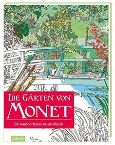 Die Gärten von Monet: Ein wunderbares Ausmalbuch (Malprodukte für Erwachsene) von Marina Vandel http://www.amazon.de/dp/3845815337/ref=cm_sw_r_pi_dp_lenfxb1YCMNY3