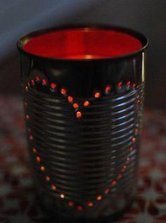 rot romantisch leuchten laterne tischlampen dosen