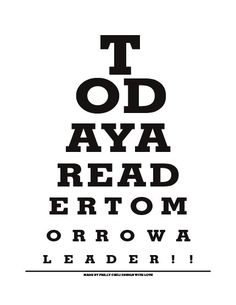 Free Printable Mini Eye Exam Chart Note Cards  Eye Exam Project