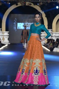 Ali Xeeshan Bridal Collection at PLBW 2013.