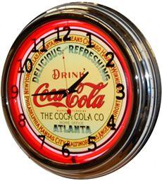 Coca Cola Decor, Coca Cola Drink, Coca Cola Ad, Always Coca Cola, World Of Coca Cola, Coca Cola Atlanta, Cool Clocks, Unusual Clocks, Best Soda