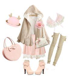 "wonderholichime: "" • Angelic Doll by Wonderholichime • Top | Skirt | Underskirt | Hat | Bag | Heart bag | Shoes • Use 10% discount code - Wonderholic. Please do not delete the caption. Thank you! """