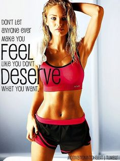 We deserve to be fit and healthy