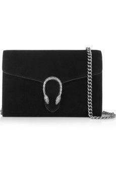 Gucci Dionysus suede shoulder bag | NET-A-PORTER