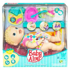 Baby Alive Changing Time Baby $24.84