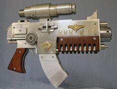 INADESIGN FANTASY WEAPON & MODELING WORX: BOLTER GUN
