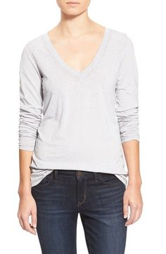 Stem Long Sleeve V-Neck Tee available at #Nordstrom