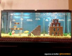 Acuarios originales: Mario Bros.