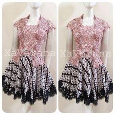 Children Dress Summer Products 54 Ideas For 2019 Trendy Dresses, Modest Dresses, Nice Dresses, Fashion Dresses, Dress Batik Kombinasi, Kebaya Modern Dress, Kebaya Lace, Batik Fashion, Evening Dresses