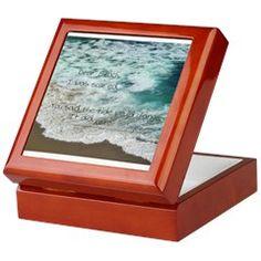 Love Notes To The Beach Tide Change Keepsake Box