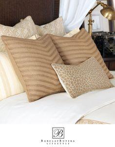 Barclay Butera's Serengeti Decorative Pillows.