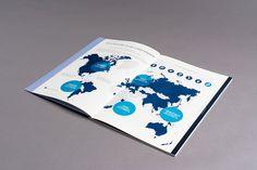 Beiersdorf Annual Report – Case study on Behance