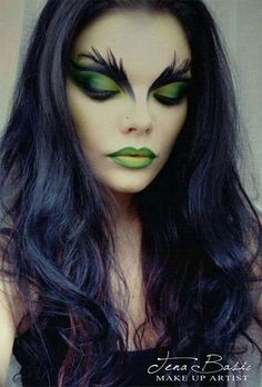 46 Pretty and Unique Makeup Looks For Halloween Make-up 35 Halloween Ma., 46 Pretty and Unique Makeup Looks For Halloween Make-up 35 Halloween Makeup Ideas For Women. Halloween Makeup Witch, Halloween Looks, Pretty Halloween Makeup, Halloween 2019, Halloween Ideas, Halloween Party, Women Halloween, Creepy Halloween, Vintage Halloween