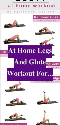 This is a highly effective butt exercise. To do a bridge, lie on to the floor with both knees bent plus your feet on to the ground. Your arms should b... Easy Workouts, At Home Workouts, Bum Workout, Side Lunges, Spin Class, Do Exercise, Kickboxing, Get In Shape, Glutes