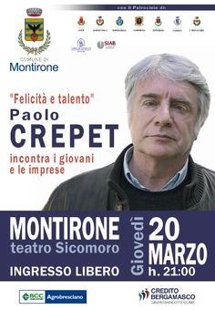 Paolo Crepet a Montirone http://www.panesalamina.com/2014/22580-paolo-crepet-a-montirone.html