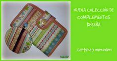 Nueva colección de complementos: cartera y monedero.