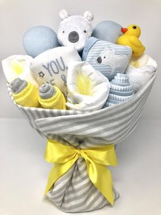 Baby Boy Gift, Baby Boy Gift Basket, Baby Boy Shower Gift/Centerpiece, Welcome Baby Boy Gift, Baby Boy Gift Bouquet Baby Boy Gift Baskets, Baby Gift Hampers, Baby Shower Gift Basket, Baby Shower Gifts For Boys, Baby Boy Gifts, Baby Boy Shower, Baby Shower Bouquet, Baby Bouquet, Baby Shower Presents