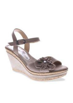 6ad0dc0fc280b4 Azura Women s Casola Wedge Sandal - Tan Khaki - 40 Eu   10 M Us