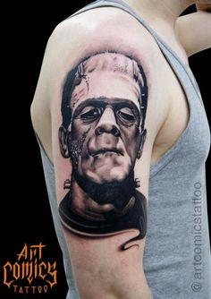 Tatuagem realizada por Christian Cetra  Art Comics Tattoo  Rua Henrique Sertório, 301 sala 04 - Tatuapé - SP Whatsapp: 011 9.6362-5759