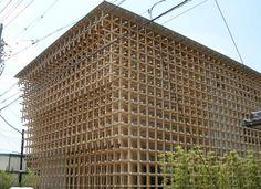 画像 : これだけは見ておきたい!隈研吾の建築10選 - NAVER まとめ